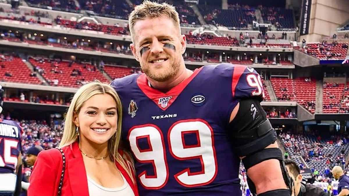 JJ Watt and Kealia Ohai get married