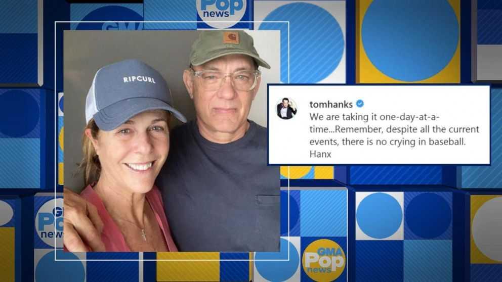 After wife Rita Wilson, Tom Hanks opens up about his coronavirus symptoms