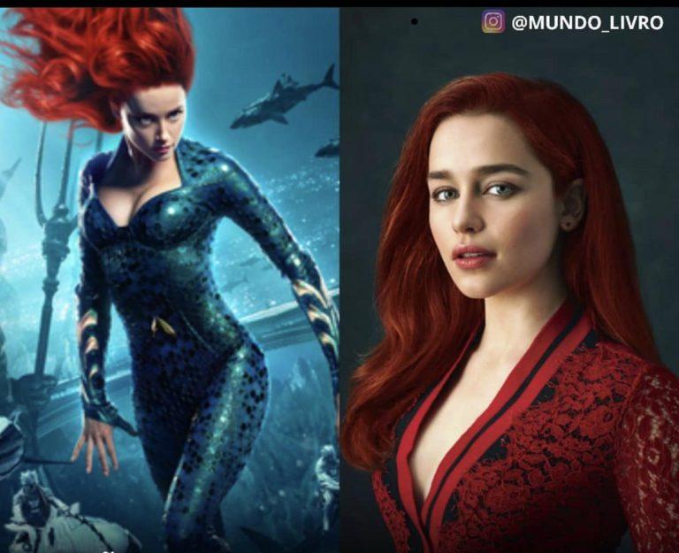 Emilia Clarke has REPLACED Amber Heard as Mera in Aquaman 2 & Jason Mamoa is Happy with it??