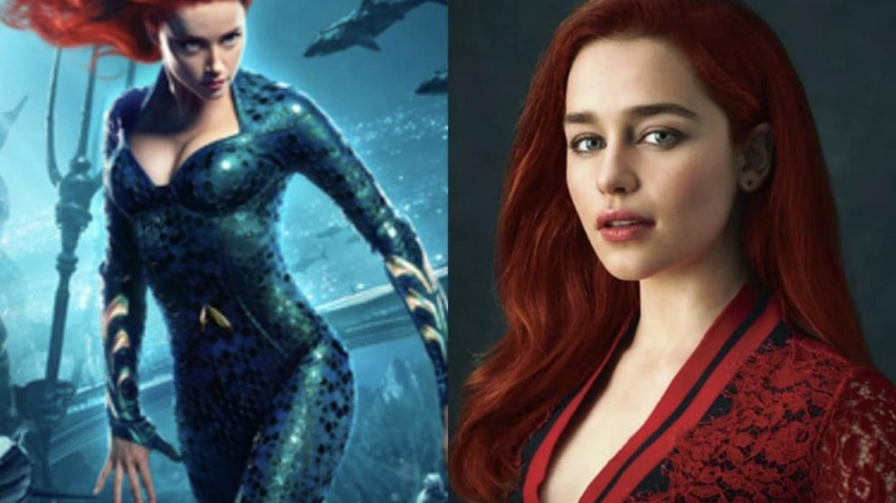 Emilia Clarke has REPLACED Amber Heard as Mera in Aquaman 2 & Jason Mamoa is Happy with it??