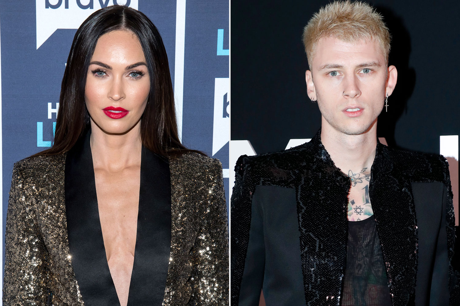 Machine Gun Kelly and Megan Fox