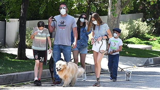 Ben Affleck introduces kids to girlfriend Ana De Armas