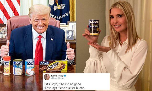Ivanka Trump promotes Goya
