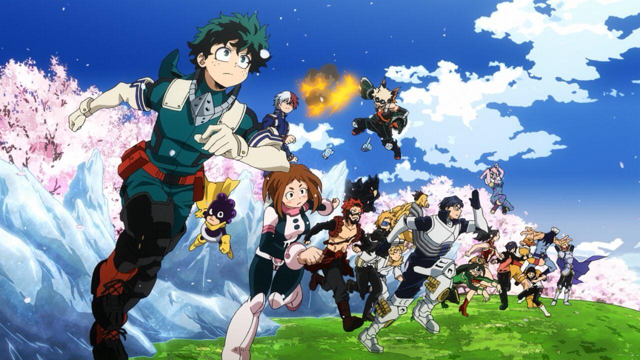 Anime My hero Academia