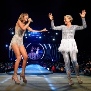 The Ellen DeGeneres Show unfolds a new leaf, where once Taylor Swift Almost cried after being grilled on the show.