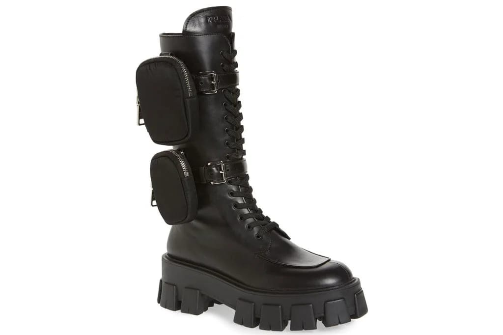 "Prada ""It-Girl"" Combat boots"