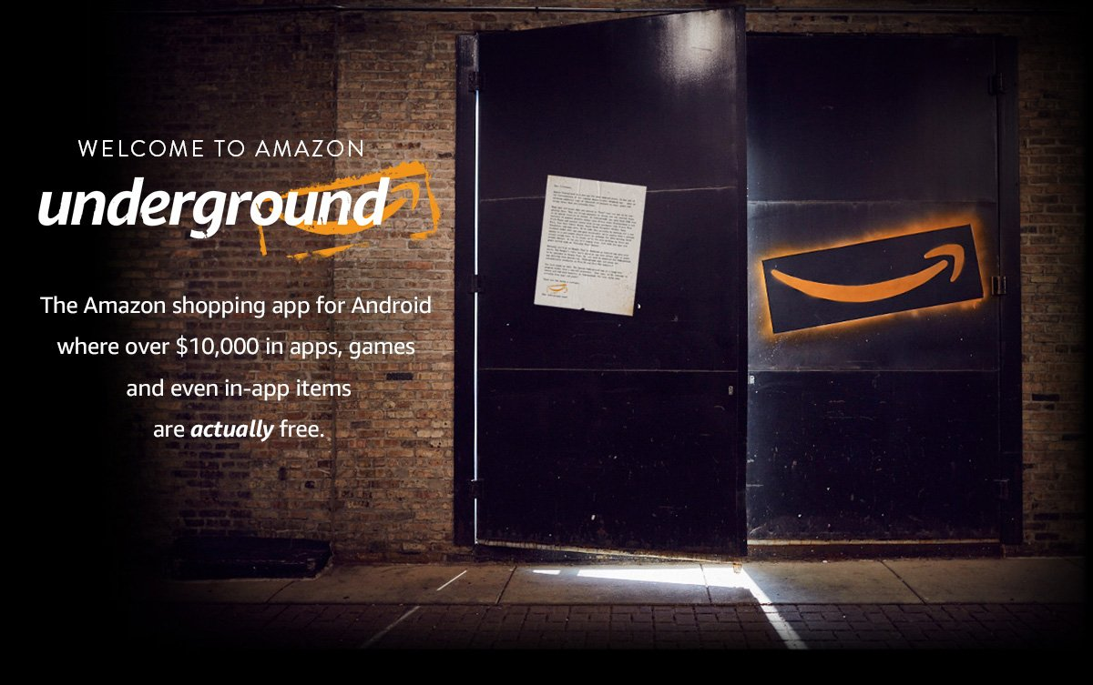 Amazon Underground application