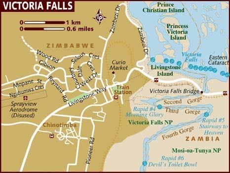 Angel Falls, Victoria Falls, waterfall
