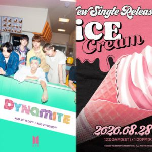 Treat for fans!! BLACKPINK ft Selena Gomez's Ice Cream Or BTS Dynamite. How people loved it?
