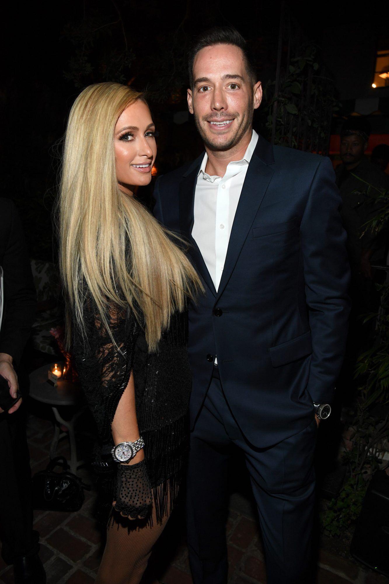 Paris Hilton, Carter Reum
