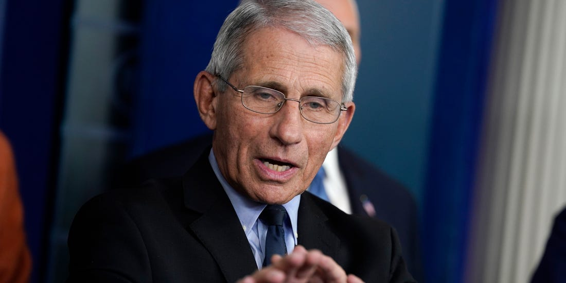 Dr. Fauci: Vaccine 'Conceivable' But Not Likely in October