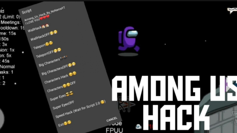 Among Us Mod Menu Apk V 2020 10 22 Latest Updated Hack Android Ios All Unlocked