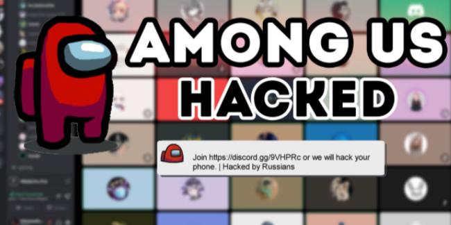 Among us hack menu