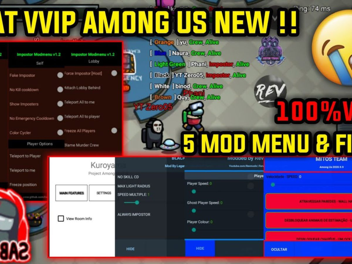 Among Us Always Imposter Mod Hack Apk With No Kicked With Hack Bypass Latest Update Insta Chronicles