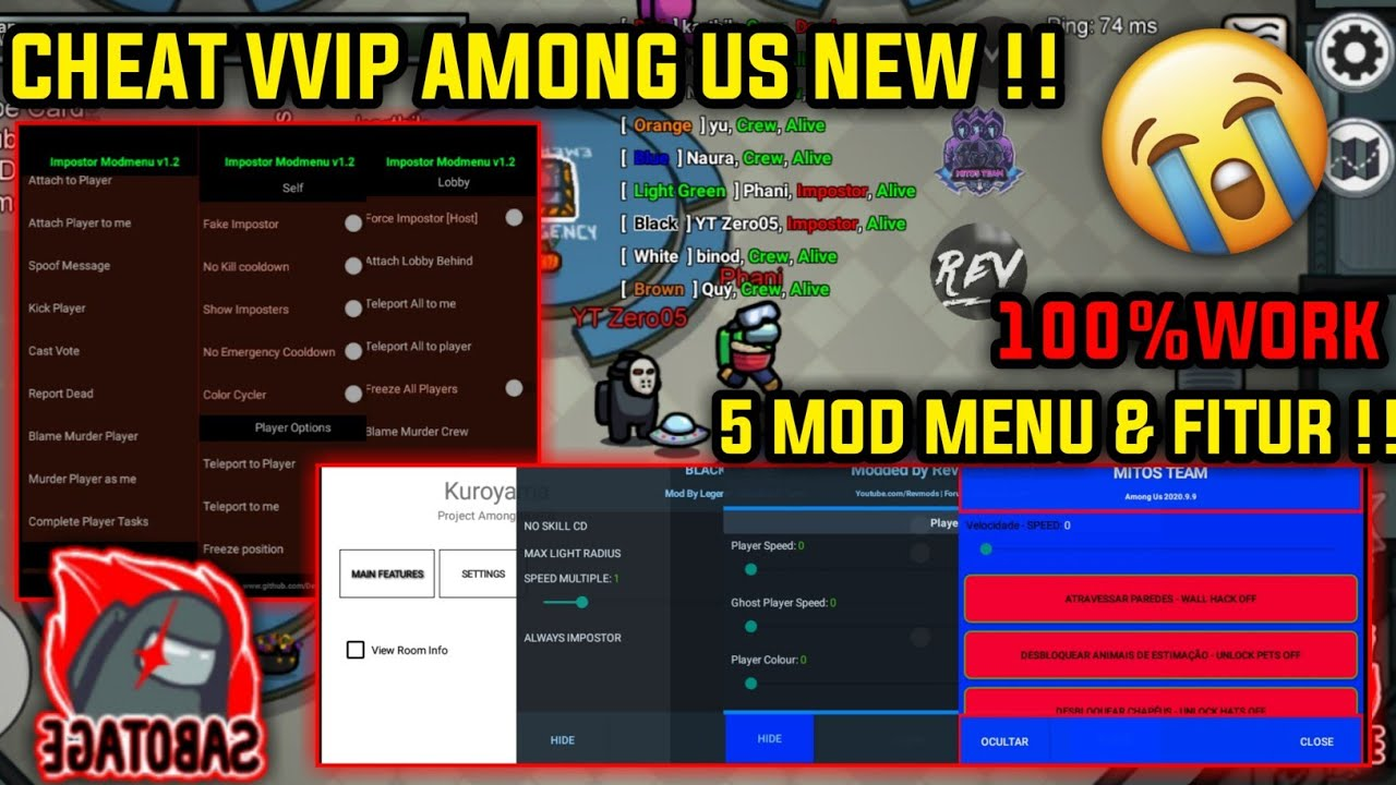 "AMONG US Always Imposter Mod/Hack APK v2020.11.17 with NO ""KICKED WITH HACK"" bypass : Latest Update - Download AMONG US Always Imposter Mod/Hack APK v2020.11.17 with NO ""KICKED WITH HACK"" bypass : Latest Update for FREE - Free Cheats for Games"