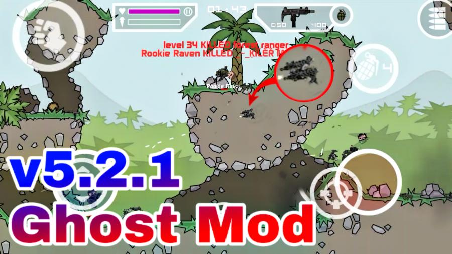 mini militia hack version unlimited ammo and nitro