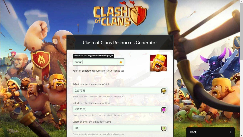 Clash of Clans Gems Generator