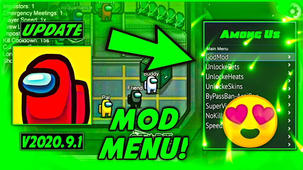 Among Us Mod menu Hack 2021: Available for iOS and ANDROID EXCELLENT FEATURES!!!! Install now!! - Download Among Us Mod menu Hack 2021: Available for iOS and ANDROID EXCELLENT FEATURES!!!! Install now!! for FREE - Free Cheats for Games