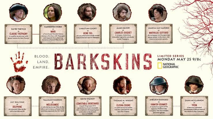 Barkskins season 2