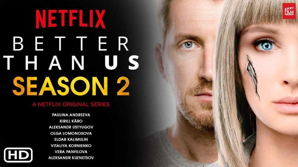 Better Than Us (Netflix) Original Trailer HD 1080 - YouTube