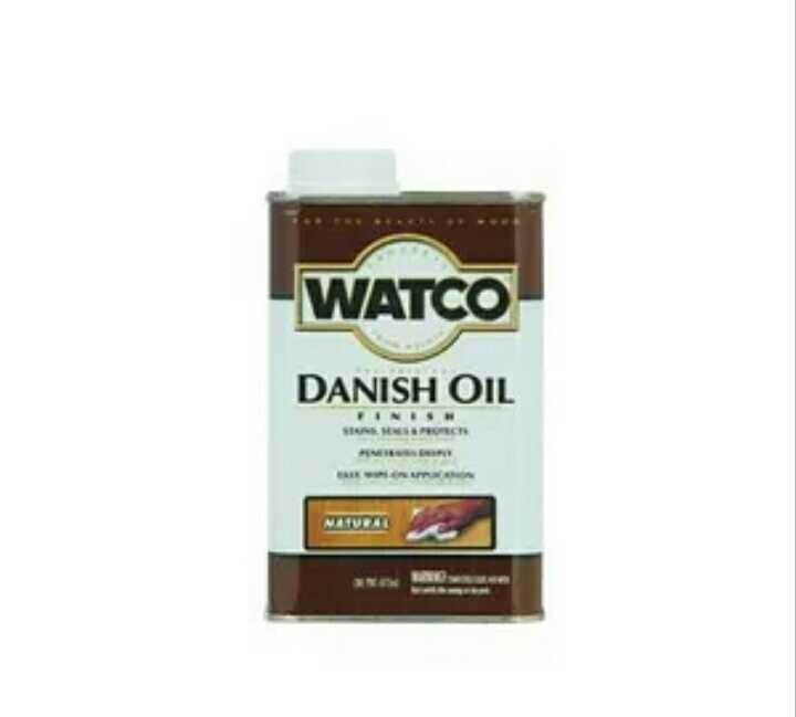 Teak oil vs Danish oil
