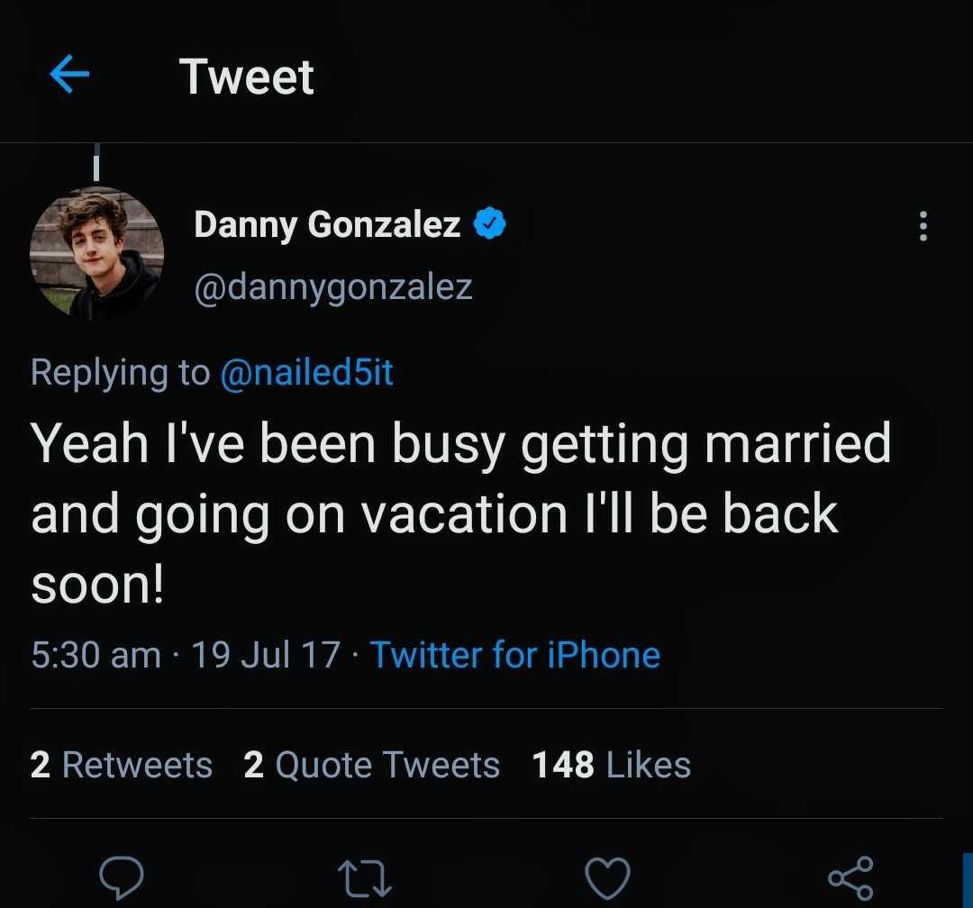 Danny Gonzalez Wife