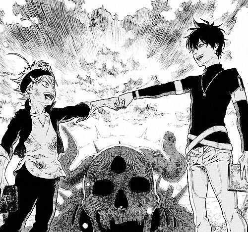 Asta and Yuno
