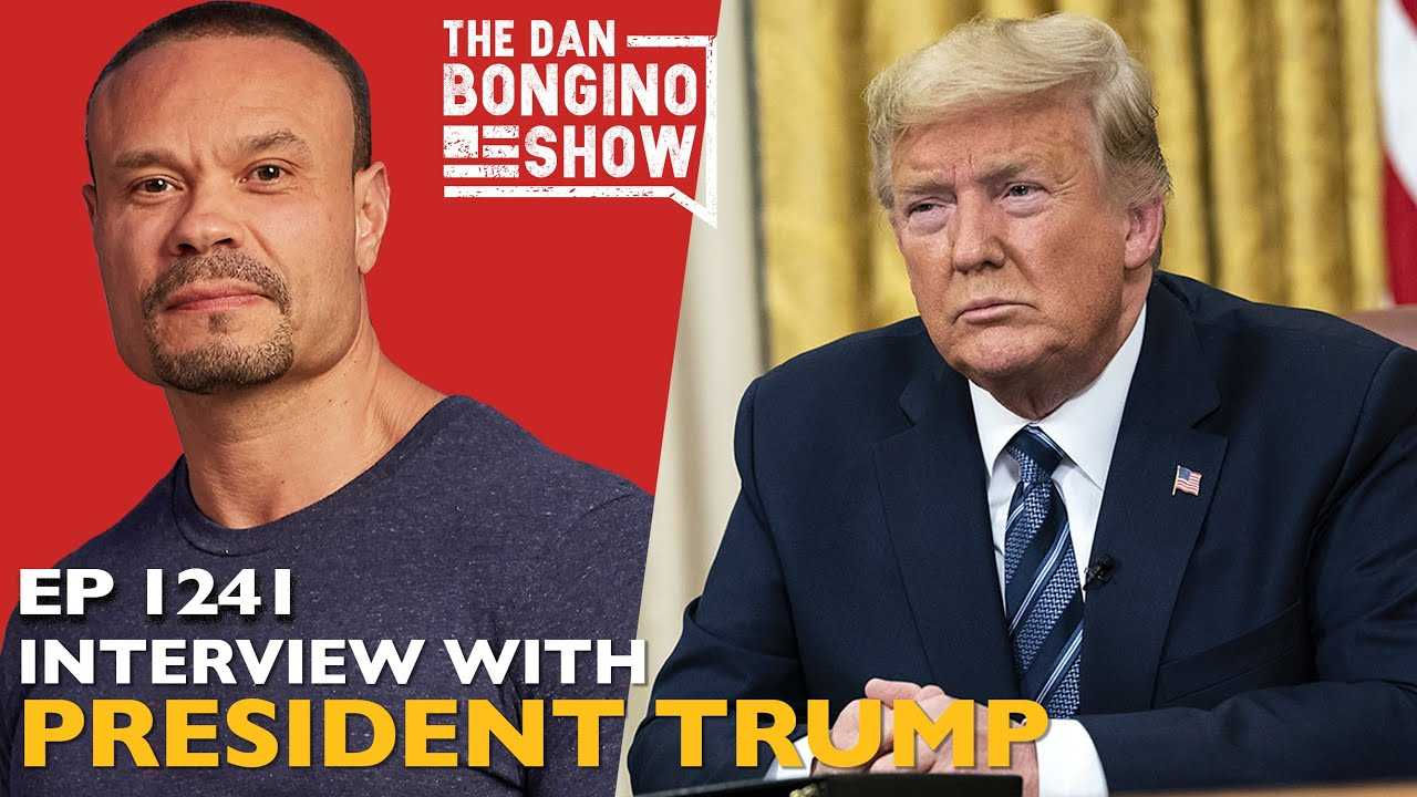 Dan Bongino Show on Monday, Interview With Trump Highlights, related 2024 Election?