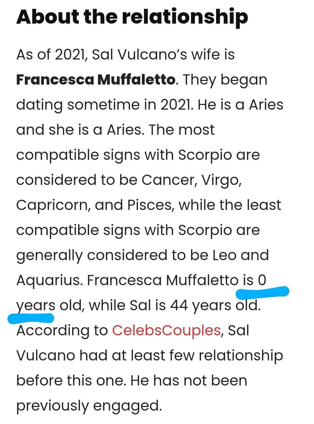 Sal Vulcano Wife