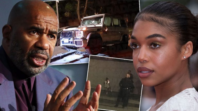 Lori Harvey Arrested in Hit-and-Run Case, Steve Harvey is Very Depressed from her.