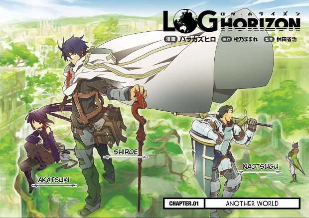 Anime Like Log Horizon