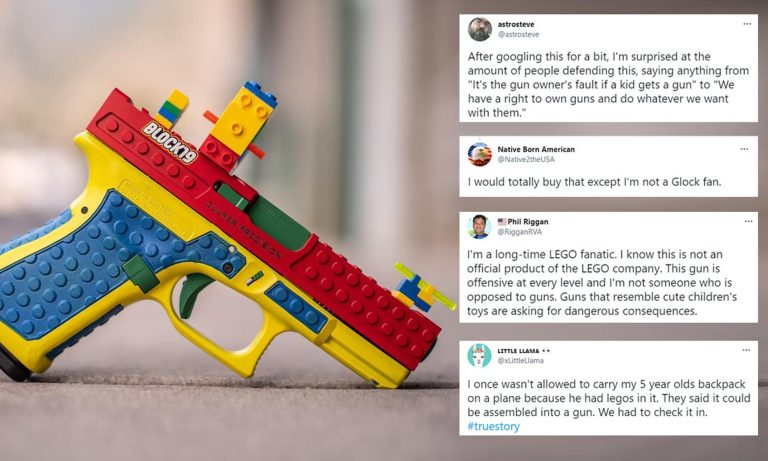 Lego Warned U.S. Company and said to Stop Making Gun That Looks Like Child's Toy, Its Dangerous
