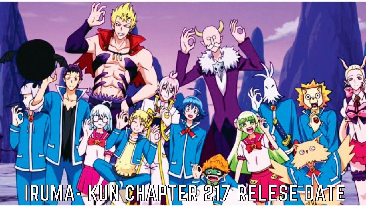 Iruma-kun Chapter 217